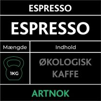 Artnok Organic Espresso