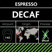Koffeinfri espresso